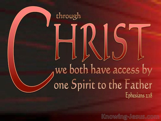 Ephesians 2:18 - Verse of the Day