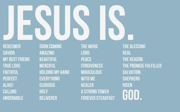 Image result for Jesus is god