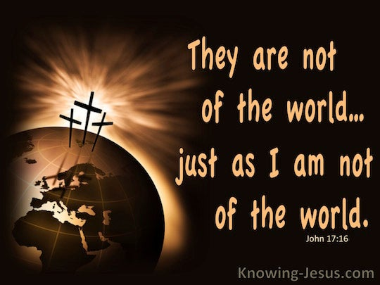John 17 16 Verse Of The Day