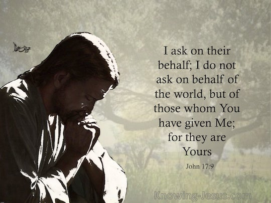 John 17 9 Verse Of The Day