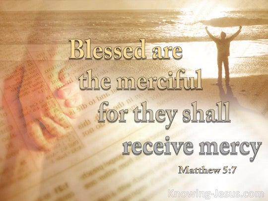 Matthew 5:7 - Verse of the Day