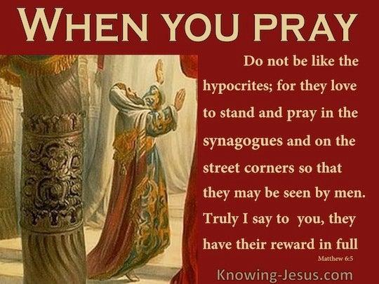 Topical study on prayer