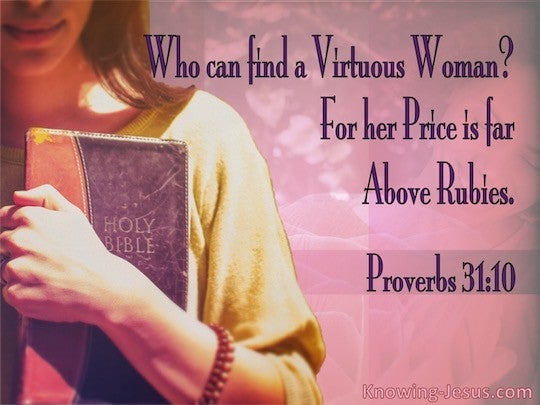 Proverbs 31 10 Verse Of The Day