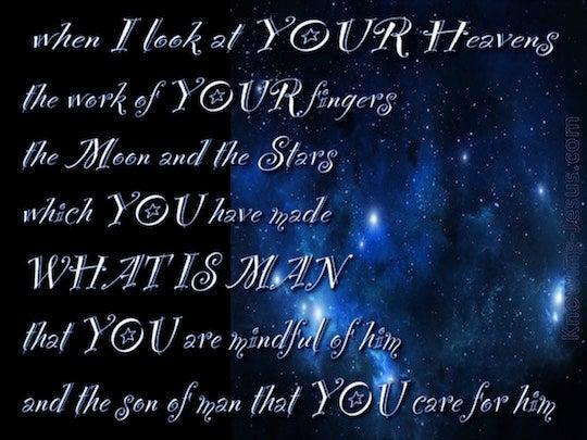 Psalm 8 Einheitsübersetzung