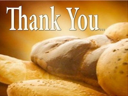 Prayer for thankfulness