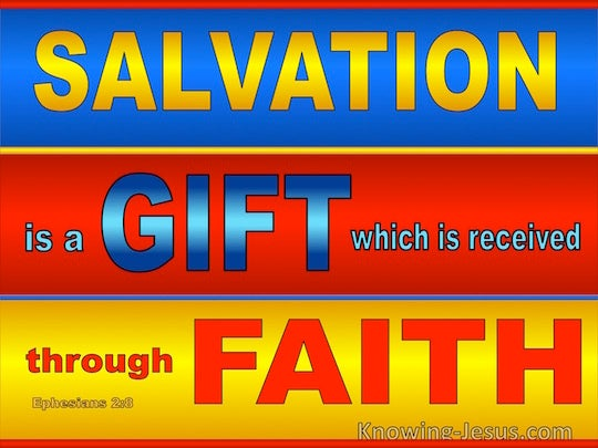 salvation through faith and reason Second, because of this failure to think out the faith-reason relation from a center in christ (who reconciles and unites all things in himself), all of the aforementioned approaches are left with an inherent dualism between the two that must then be overcome through some sort of logical or metaphysical bridge.