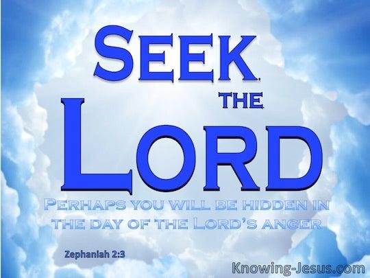 Zephaniah 2:3 - Verse ...
